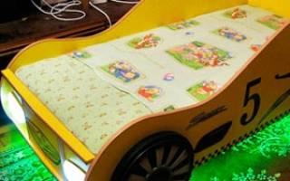 Пошаговая инструкция изготовления своими руками кровати-машины