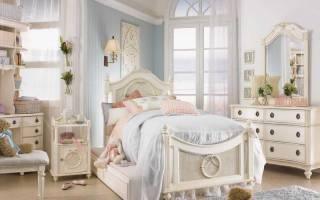 Варианты детской мебели в стиле прованс, какие существуют