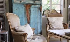 Изящные кресла в стиле прованс, особенности сочетания с интерьером